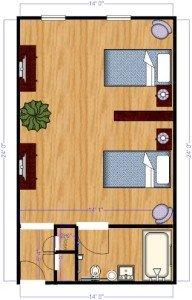 Personal Deluxe Floorplan
